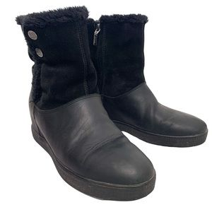 GEOX Respira / Amphibiox Suede Leather Boots